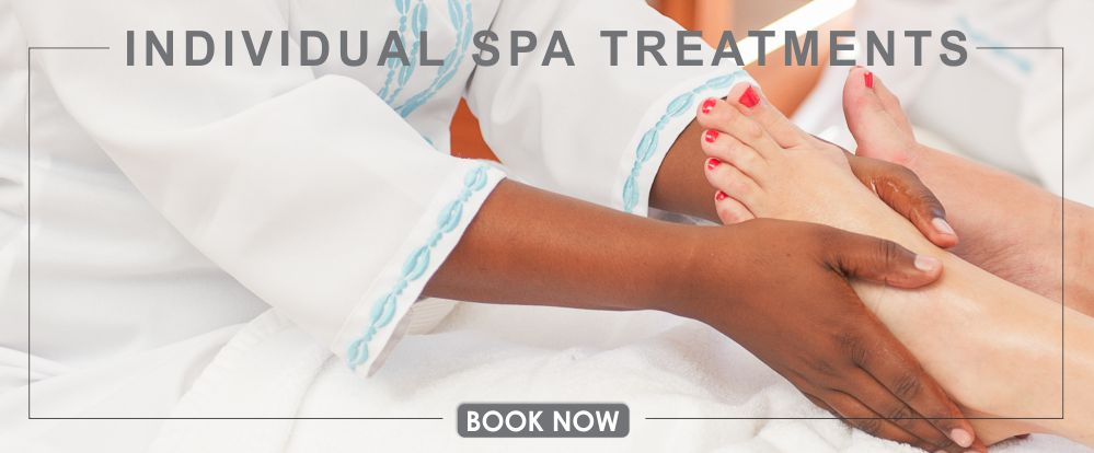 Spoil yourself with an individual spa treatment
