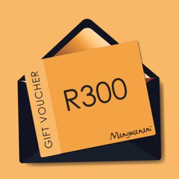 Gift voucher for R300
