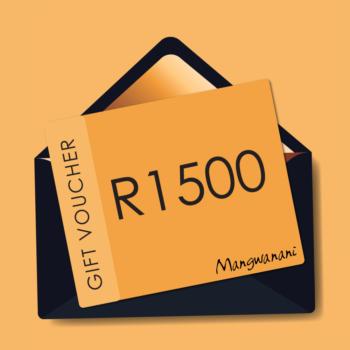 Gift voucher for R1500