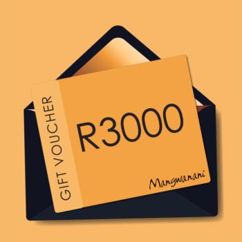 Gift voucher for R3000