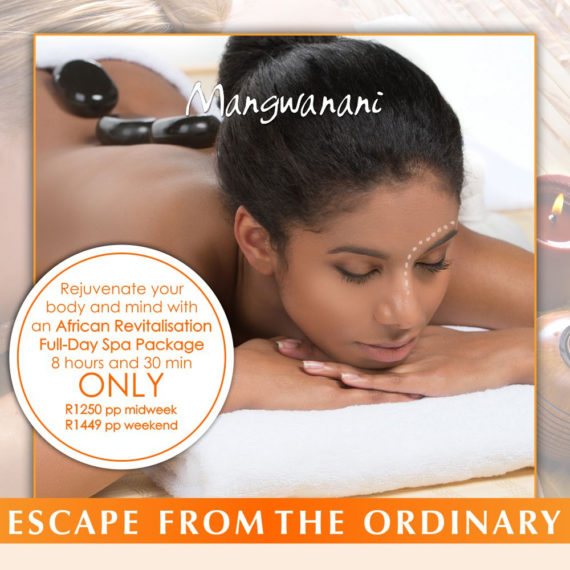 Full Day Spa Special for September