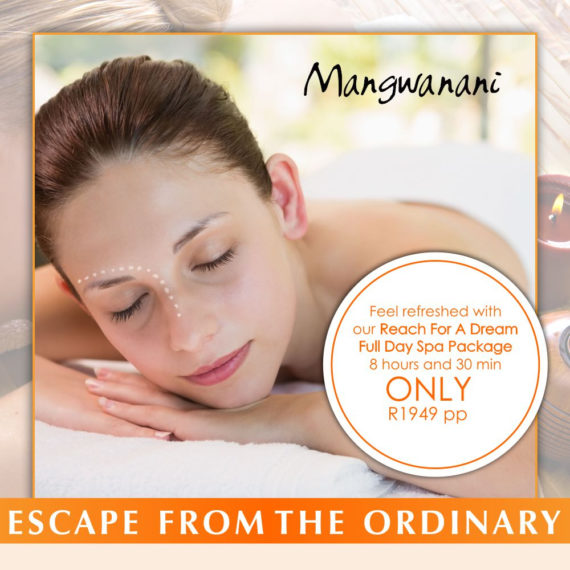 The Reach For A Dream Full Day Spa Package