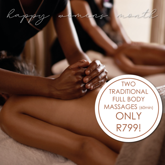 Two full-body massages for R799