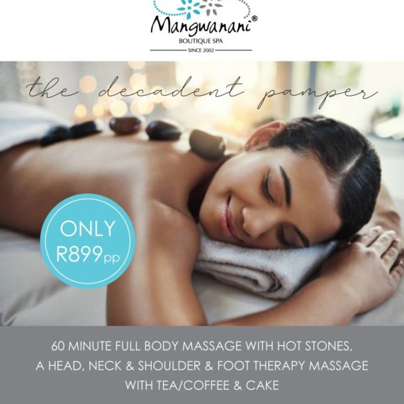 Mangwanani Boutique Offer The Decadent Pamper