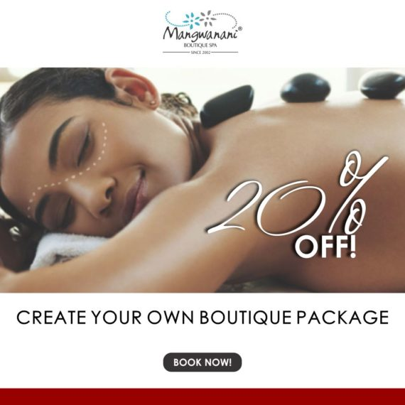 Create your own boutique spa package