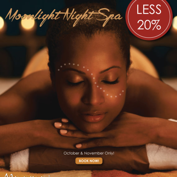 Book your night spa experience now