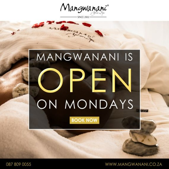 Now open on Mondays