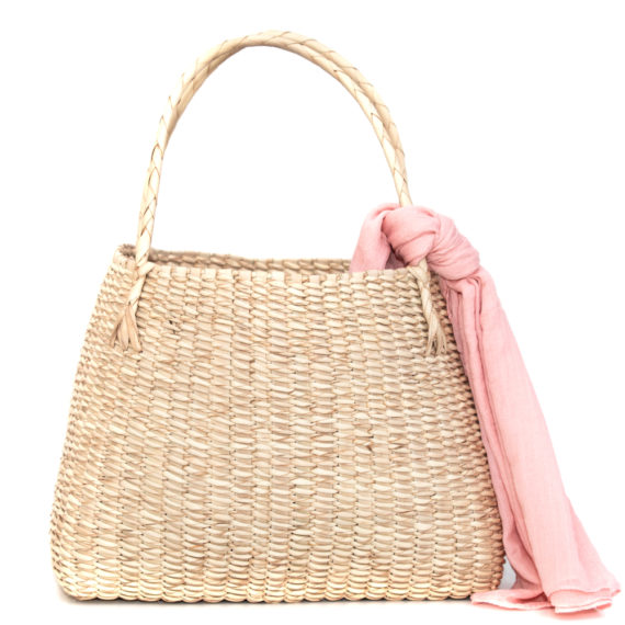 African Hand Woven Tote Bag