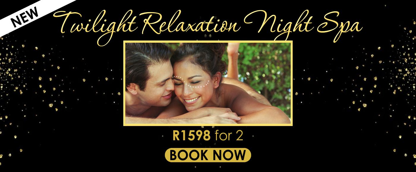 Rekindle the romance with Mangwanani's Twilight Relaxation Night Spa Package