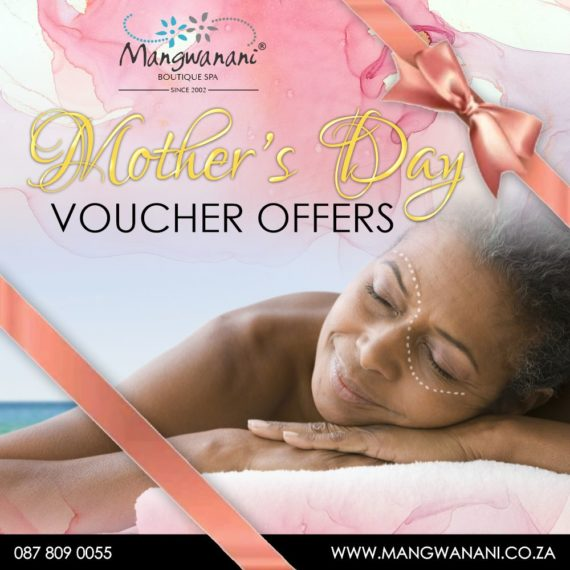 Mangwanani Boutique Spa Mother's Day Vouchers