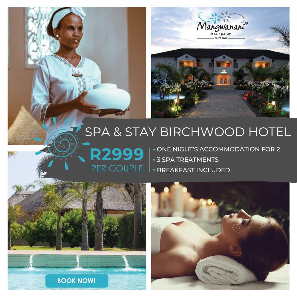 Birchwood Spa & Stay Package