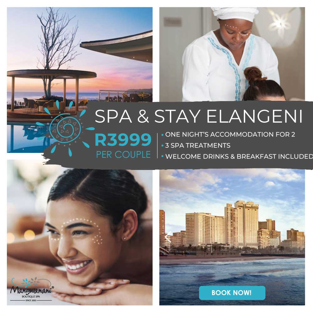 Elangeni Spa & Stay Packages
